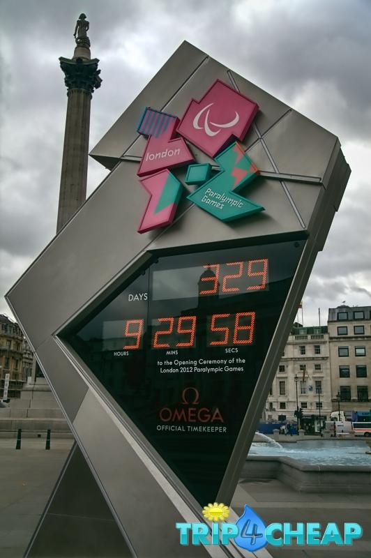 Trafalgar Square-Londyn