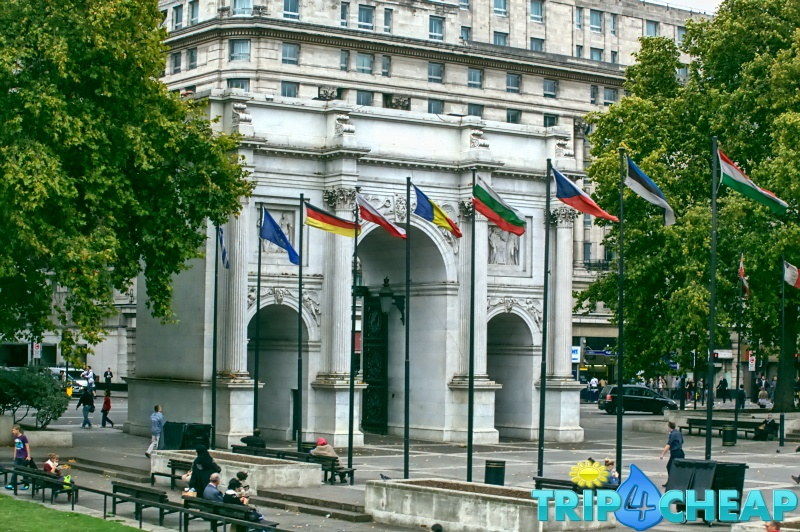 Marble Arch-w-Londynie