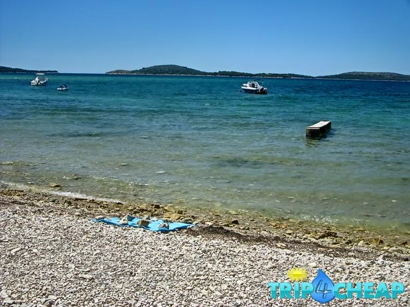 Plaża w Żaboric-Chorwacja