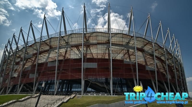 Stadion w Warszawie