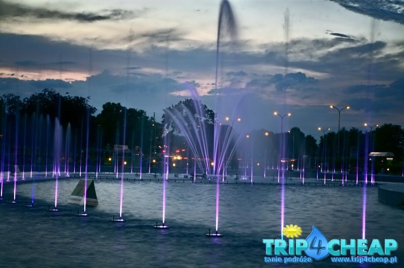 Pokaz fontann-Warszawa