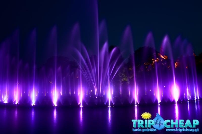 Warszawa-pokaz fontann