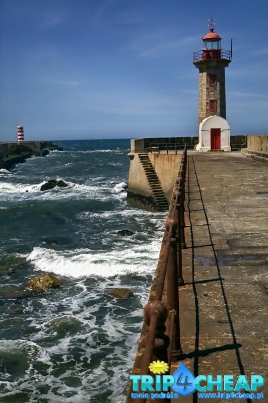 Latarnia morska w Porto