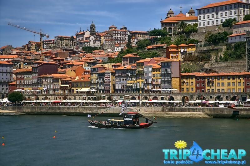 Widok na dzielnicę Ribeira-Porto
