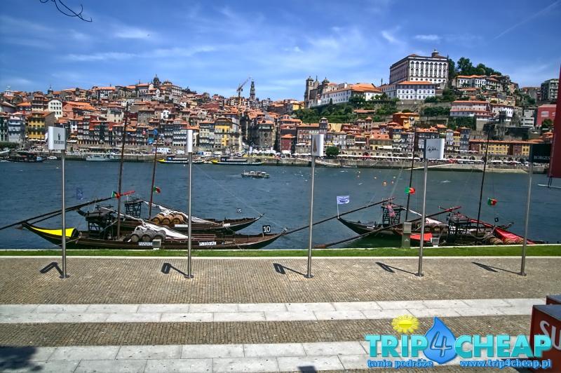 Panorama miasta od strony Vila Nova de Gaia