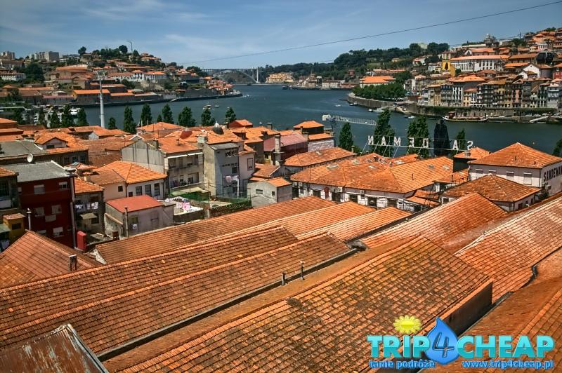 Widok na Porto-Portugalia