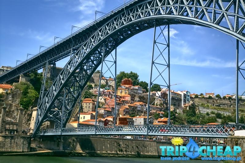 Most Ponte Dom Luis I-Porto-Portugalia