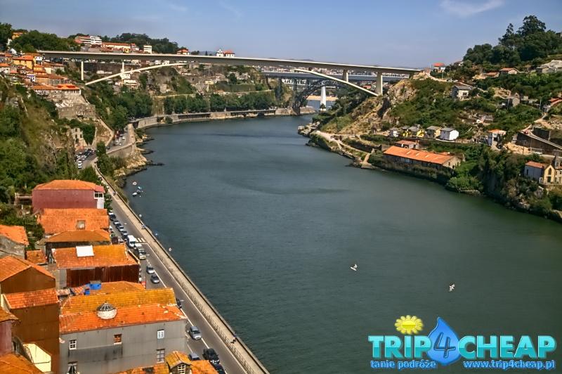 Widok na rzekę Duero