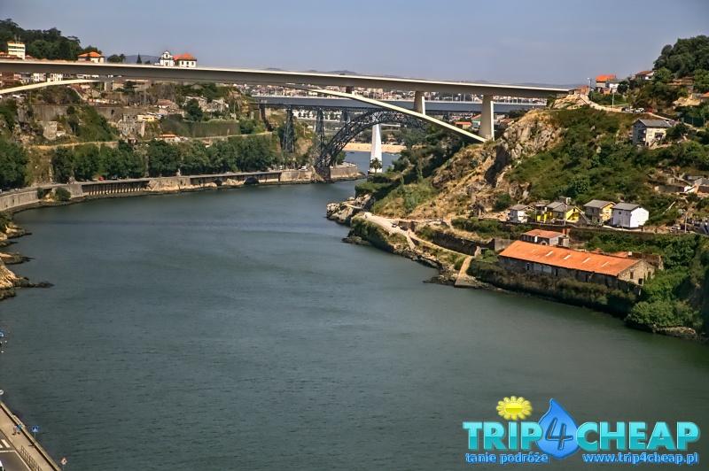 Widok na rzekę Duero-Porto