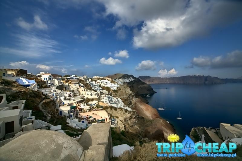 Oia na Santorini-Grecja