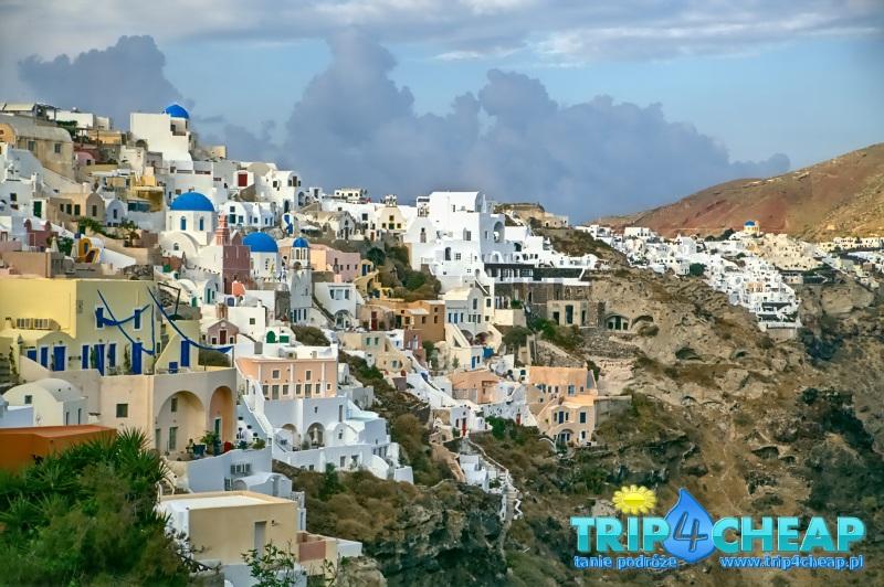 Widok na Oia-Santorini