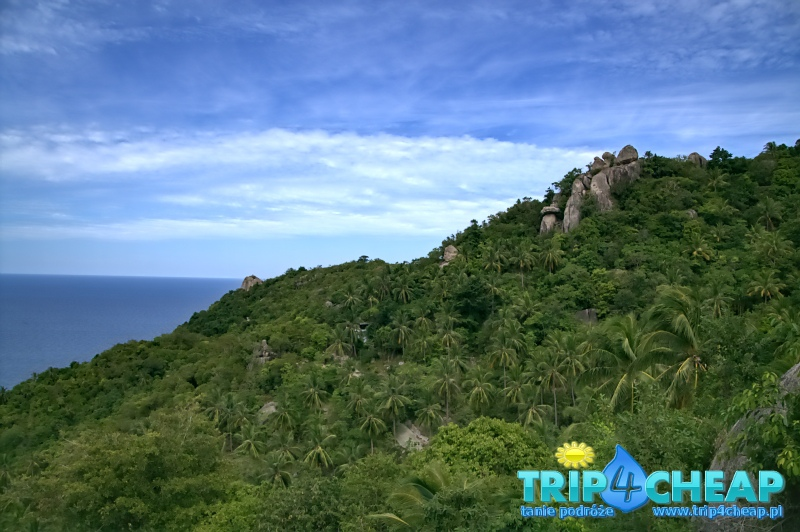 Widok na Tanote Bay-Koh Tao