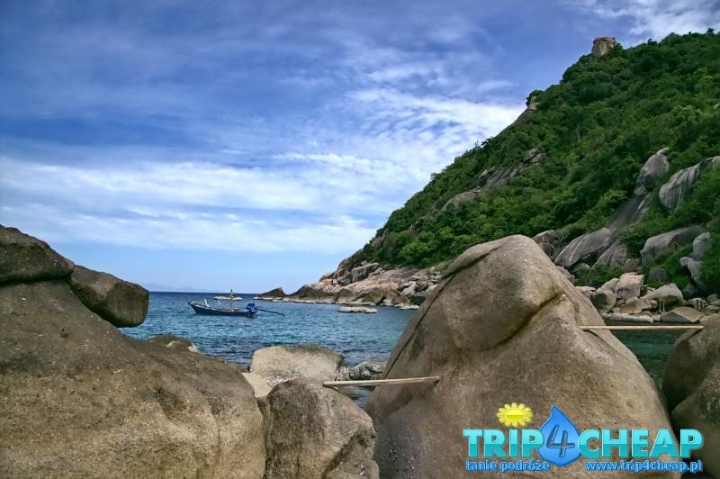 Tanote Bay-Koh Tao w Tajlandii