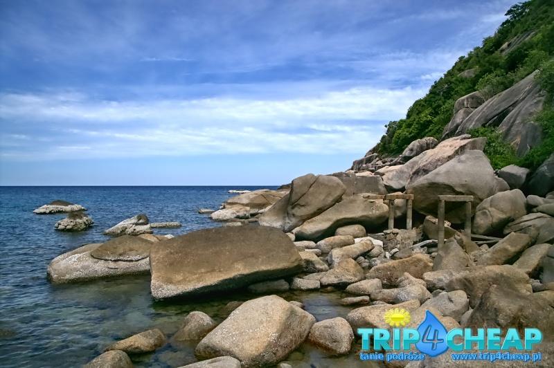 Tanote Bay na Koh Tao-Tajlandia