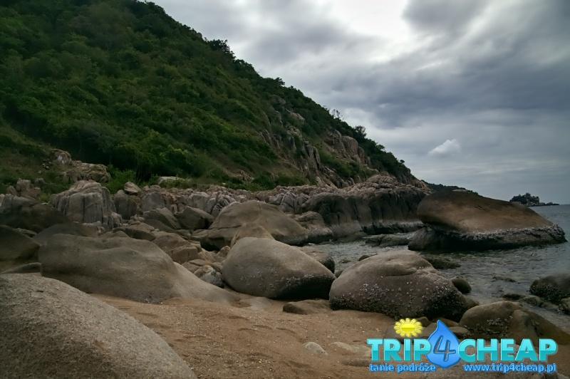 Skały na Lang Khaai Bay na Koh Tao