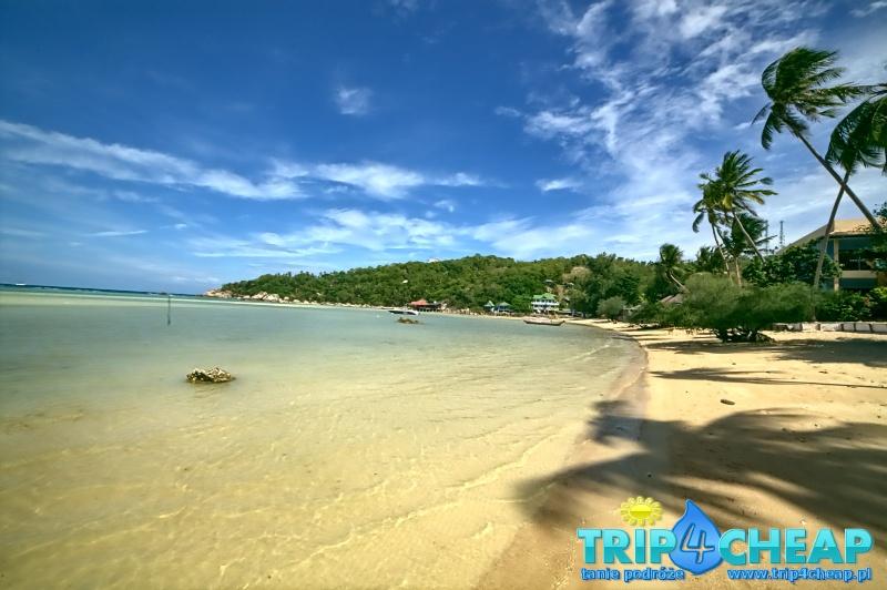 Plaża Chalok Baan Kao-Koh Tao