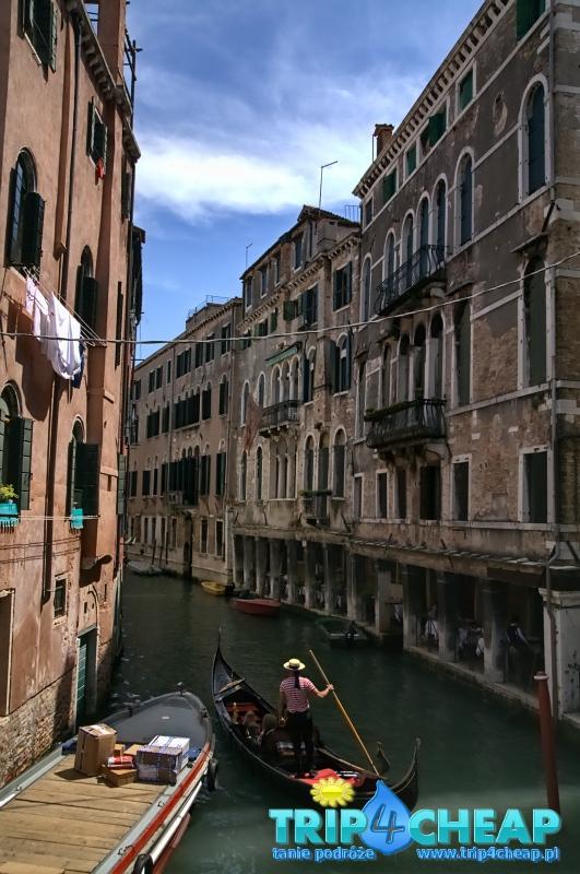 Wenecja-gondola
