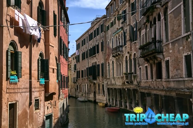 Włochy-wenecka ulica